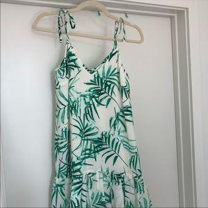 Amanda Uprichard Palm Mini Dress